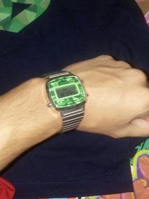 Relógio Casio Prata Camuflado