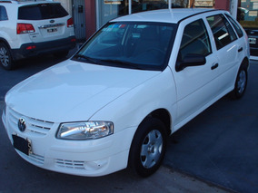 Volkswagen Gol 2011 Nafta 1.6 Color Blanco