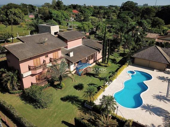 Casa Com 5 Dormitórios À Venda, 500 M² Por R$ 1.450.000 - Estância Da Colina - Salto/sp - Ca0044