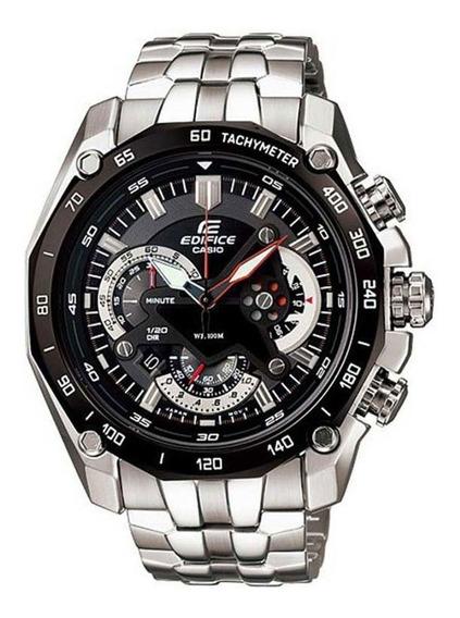 Relógio Xcv5689 Casio Edifice Prata Preto Com Caixa