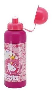Cantil Garrafinha Hello Kitty 500ml Squeeze Infantil