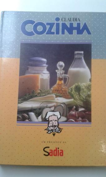 Livro Com 15 Revistas Cláudia Cozinha Encadernadas 89/90