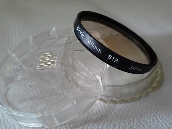 Filtro Hoya 81b 49mm Original