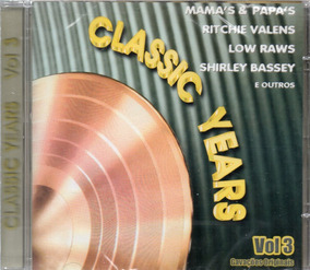 Cd Classic Years Vol 3 Frete 12,00