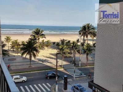 Kitnet Em Praia Grande, 01 Dormitório, No Bairro Guilhermina, Kn0155 - Kn0155
