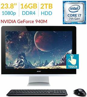 2018 Est Premium Acer Aspire Az3 23.8 Touch Fhd 1920x108 ®