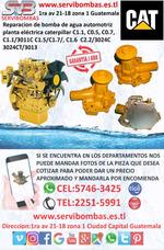 Bombas De Agua Automotrices Caterpillar C1.1,3024,c1.6,c0.5