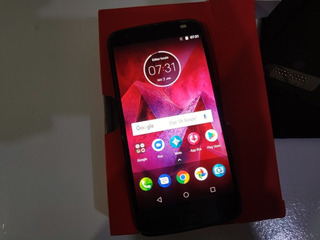 Moto Z2 Force 64gb Onix + Snap Projetor