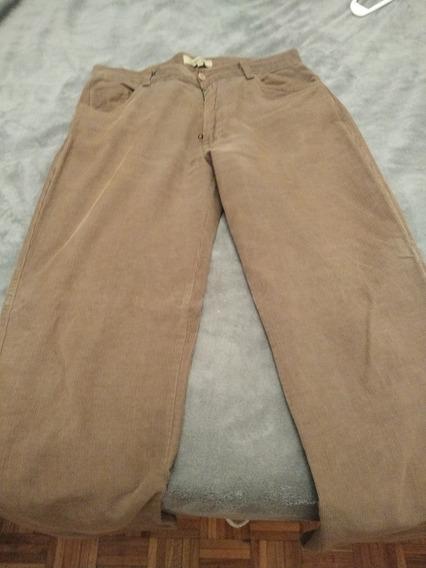 Pantalon Corderoy Suburbia Marron Talle 44.