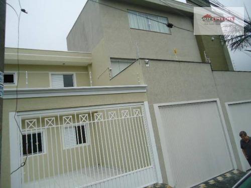 Sobrado Com 3 Dormitórios À Venda, 120 M² Por R$ 450.000,00 - Vila Ré - São Paulo/sp - So2116