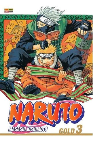 Naruto Gold Edição 03 - Reimpressão Panini