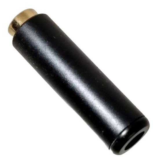Plug P3 P2 3,5mm 4 Polos Femea - Audio Video Fone Microfone