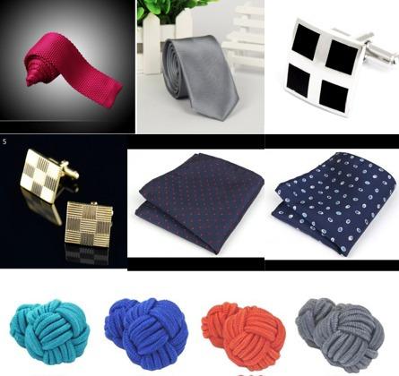 Corbatas, Manuernillas Y Pañuelos Para Caballero