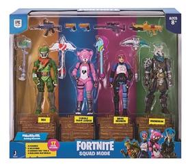 Fortnite Pack Com 4 Figuras E Acessórios - Sunny 2059