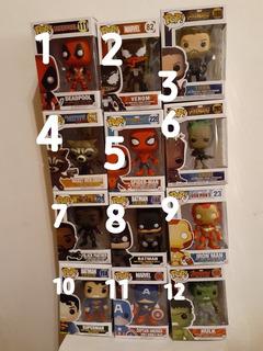 Funko Pop Súper Heroes Varios Avangers Disponibles