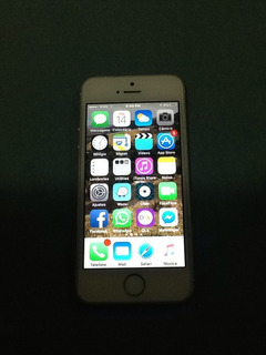 iPhone 5s 16gb Branco Com Dourado