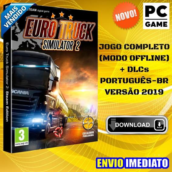 Eurotruck Simulator 2 - Pc - Versão 1.35 + 67 Dlcs - 2019