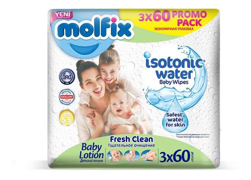 Imagen 1 de 1 de Toallitas Molfix Fresh Clean Pack X3