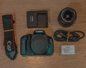 Kit Canon T3i + Lente Canon 18-55mm +carregador+bateria