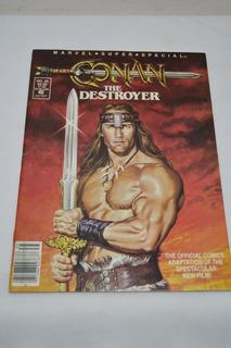 Comic ( 1984 ) Conan The Destroyer - Adaptacion Pelicula