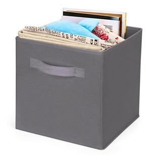 Canasto Cesto Caja Plegable Organizador Tela Deco Compactor