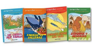 ** 4 Libros Col Cuentos De La Patagonia ** Ana Maria Shua