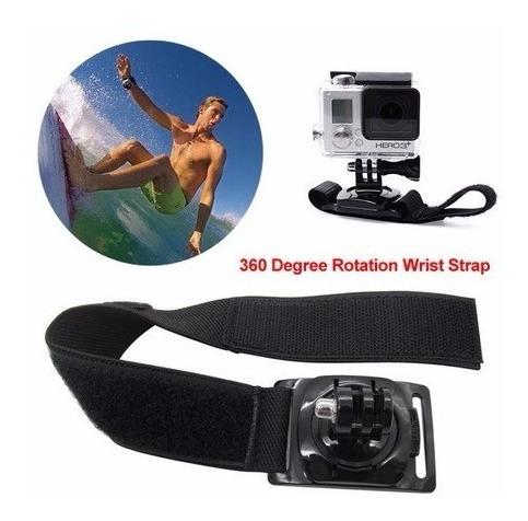 Gopro Suporte Punho Pulso Pulseira Rotação 360 Wristt Go Pro