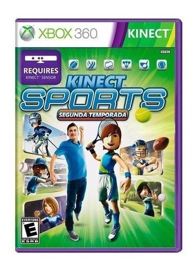 Kinect Sports 2 Xbox 360 Original 6 Eportes Lacrado Port.