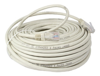 Cable De Red Patch Cord 2 Metros Armado Rj45 Ethernet Lanus