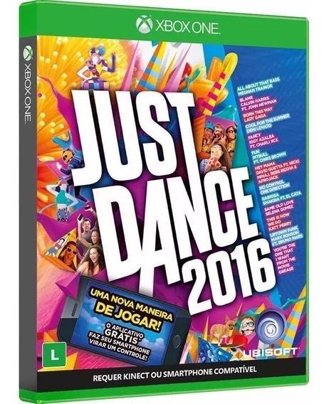 Just Dance 2016 - 100% Portugues - Midia Fisica - Xbox One