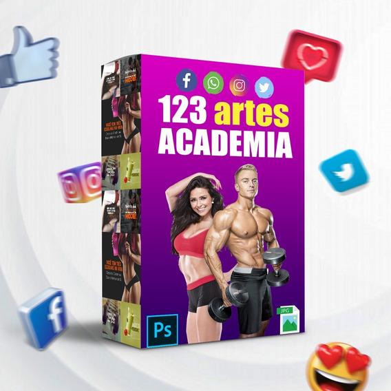 Pacote De Artes Prontas Para Academia / Crossfit - Photoshop