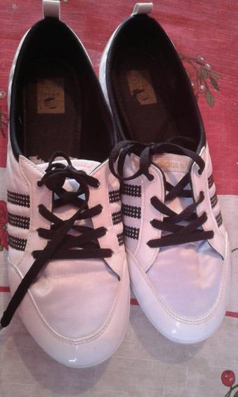 Zapatillas adidas Chatitas Piona W Neo Nro 39,5 Impecables.