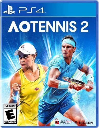Imagen 1 de 2 de Ao Tennis 2 Ps4 Fisico Sellado Original Envios Ade Ramos
