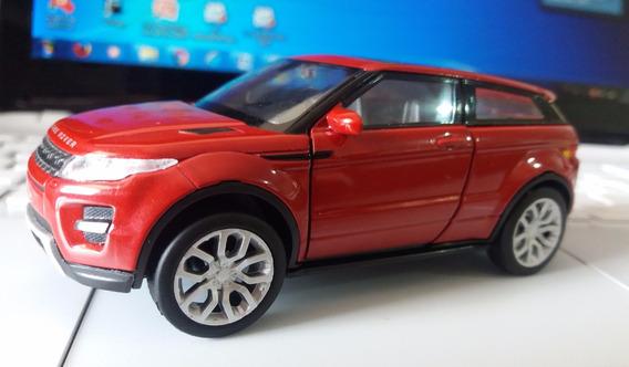 Miniatura Land Rover Range Evoque - Welly / Escala 1:32