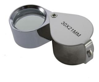 Lupa 30x21mm Para Relojoeiro Geologia Agronomia Profissional