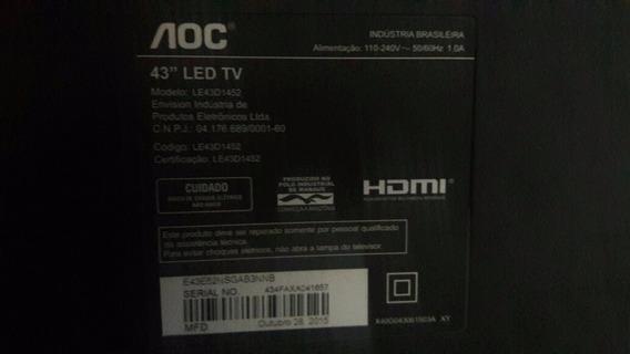 Placa Principal Tv Aoc Le43d1452