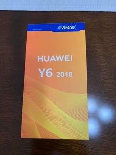 Teléfono Huawei Y6 2018 Nuevo Y Sellado
