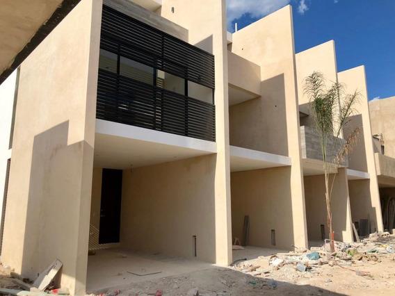 Moderno Departamento En Sao Temozón Norte, Mérida. 146m2.
