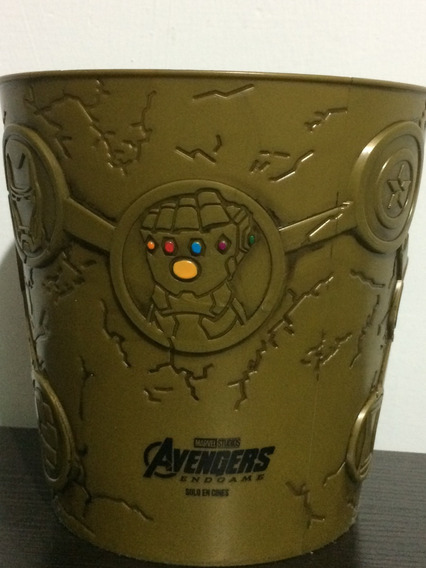 Cubeta Cinepolis Avengers Endgame