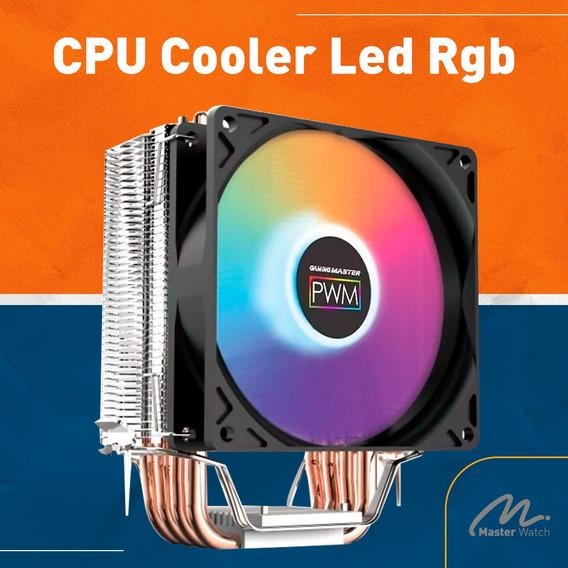 Cooler Rgb Para Processador Intel/amd Cpu Cooler - Ac01
