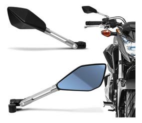 Retrovisor Moto Esportivo Tipo Rizoma Aluminio Universal