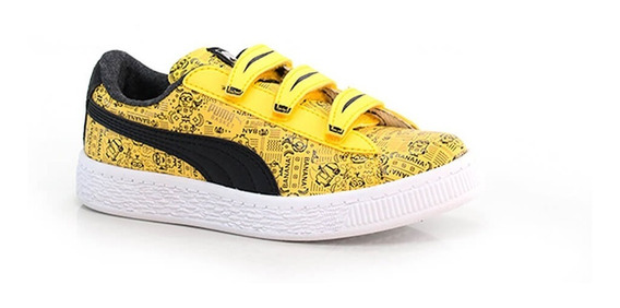 Tênis Puma Minions Basket V Ps - Way Tenis