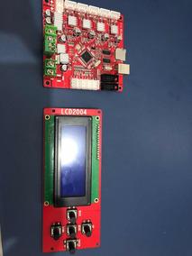 Kit - Placa Mãe E Display Para Impressora 3d Anet A8.