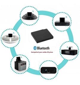 Adaptador Áudio Bluetooth 30 Pinos Lightning Bose Jbl iPhone