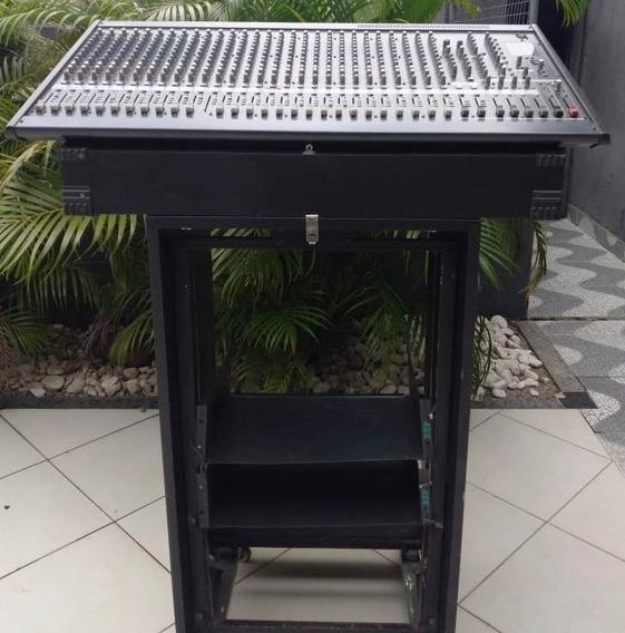 Mesa De Som Yamaha Mg32/14fx 32 Canais (rack Grátis)