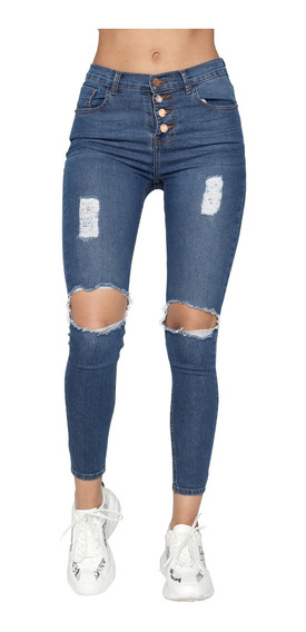Pantalones Skinny Rotos Para Hombres En Mercado Libre Mexico