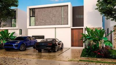 Residencia En Cholul 3 Recamaras, 4 Baños Y Medio, Cerca Plaza Altabrisa.
