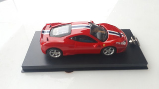 Modelo A Escala Ferrari 458 Speciale Y Pin De Ferrari