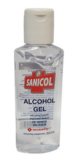 Alcohol En Gel De Manos Antibacterial Neutro Portatil