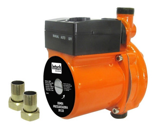 Bomba Pressurizadora 120 Watts 1600l- Intech Machine